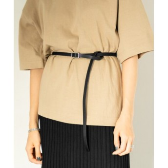 SENSE OF PLACE(センスオブプレイス) ファッション雑貨 ベルト フリーサイズスリムロングベルト