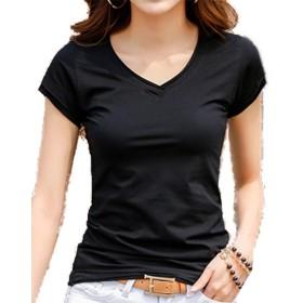 Heaven Days(ヘブンデイズ)Tシャツ 半袖 七分袖 カットソー ハイネック シンプル 無地 レディース 1907A0026