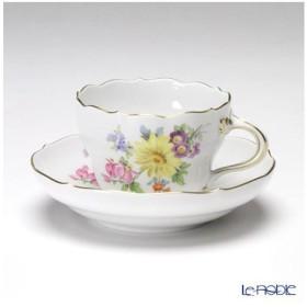 マイセン ベーシックフラワー(五つ花) 110110/00582/25 コーヒーカップ&ソーサー 200cc Motiv No.25 マーガレット