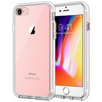 JEDirect iPhone7 iPhone8 ケース バンパー 衝撃吸収 傷つけ防止 (クリア) クリア B01KF0FJX2