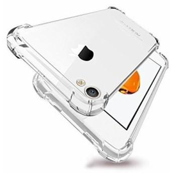 iPhone 4S/4用ケース透明 クリア ソフトカバー 衝撃吸収 TPU シリコン 落下防止 防指紋 軽量 超薄 耐衝撃ケース衝撃吸収カバー ...