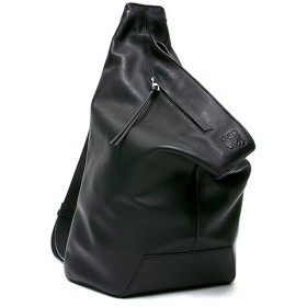 ロエベ ワンショルダー/バックパック BLACK ブラック メンズ LOEWE Anton Backpack 307 30 J87 1100 (307.30.J87 1100)