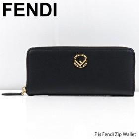 【予約】『FENDI-フェンディ-』F is Fendi Zip Wallet エフイズフェンディ 長財布  Fロゴ[8M0406A18B]《ご注文後3日前後発送予定》