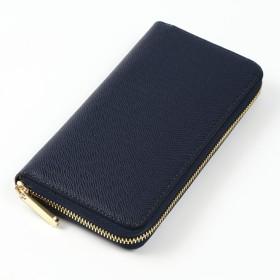 B.M.C 財布 レディース 長財布 ラウンドファスナー ギフトボックス付き 9カラー キャメル