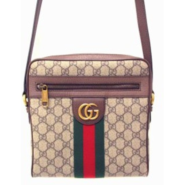 reputable site a5dca c67ab 中古】グッチ GUCCI ショルダーバッグ メッセンジャー バッグ ...