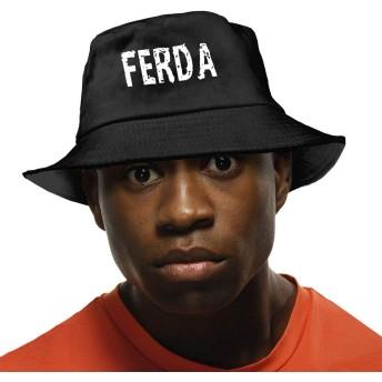 Ferda Letterkenny Logo バケットハット ハット 帽子 紫外線対策 サファリハット カジュアル スポーツ メンズ レディース プレゼント UVカット つば広 おしゃれ 可愛い 日よけ 夏季 小顔効果