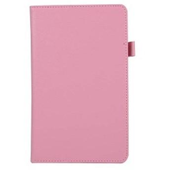 Huawei Mediapad M5 8.4 2つ折りPUレザー ケース [保護フィルム+タッチペン付き]ピンク 33720-03 送料無料