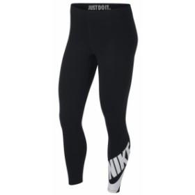 ナイキ Nike レディース スパッツ・レギンス インナー・下着 Leg-A-See Futura 7/8 Leggings Black/White