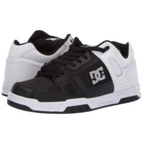 DC(ディーシー) メンズ 男性用 シューズ 靴 スニーカー 運動靴 Stag - White/Black/White 14 D - Medium [並行輸入品]