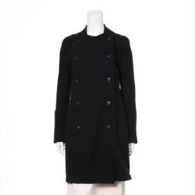 ワイズ ウール ロングコート サイズ2 レディース ブラック