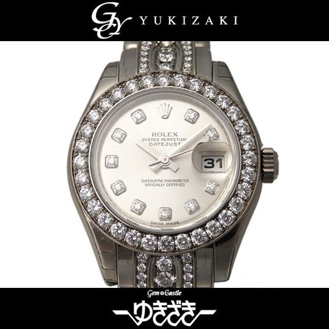 new style 8ae6d d721e ロレックス デイトジャスト パールマスター ベゼル・ブレス ...