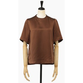 <mame/マメ> BLOUSE(MM19AW-SH718) BROWN 【三越・伊勢丹/公式】
