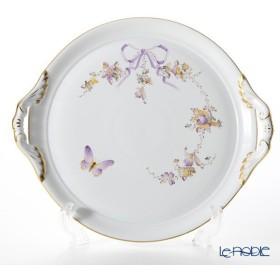 ヘレンド(Herend) エデン EDEN 02315-0-00 ケーキプレート(両手付) 28.5cm 皿