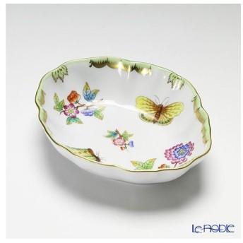 ヘレンド(Herend) ヴィクトリア・ブーケ 07740-0-00 ディッシュ 14.5cm 皿