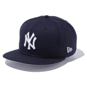 ニューエラ(NEW ERA) 9FIFTY ニューヨーク・ヤンキース キャップ ネイビー×ホワイト 11308467 (Men's)