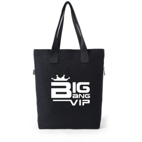 LiLing阿七 BIGBANG GD VIP 周辺 ショルダーバッグ 応援バッグ ズック 韓流グッズ ハンドバッグ (2#)