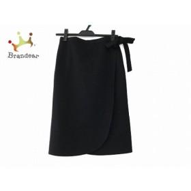 ソニアリキエル SONIARYKIEL 巻きスカート サイズ38 M レディース 美品 黒 新着 20190728