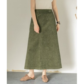 SENSE OF PLACE(センスオブプレイス) スカート スカート コーデュロイロングスカート【送料無料】