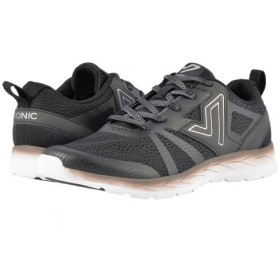 VIONIC(バイオニック) レディース 女性用 シューズ 靴 スニーカー 運動靴 Miles - Black 6.5 W [並行輸入品]