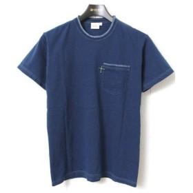 トゥームーン Two Moon 20203 インディゴポケットTシャツ