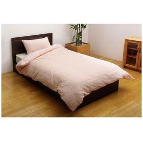 イケヒコ 「掛ふとんカバー」フローラル シングルサイズ(150×210cm/ピンク) 9611709(PK