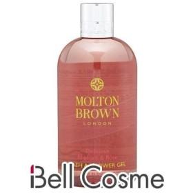 モルトンブラウン デリシャスルバーブ&ローズ バス&シャワージェル  300ml (ボディソープ)  Molton Brown