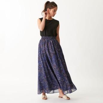 [マルイ]【セール】SMF ペイズリープリント ギャザースカート/エメル リファインズ(EMMEL REFINES)