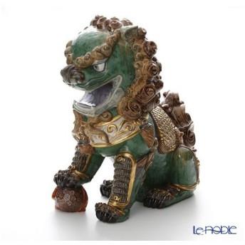 リヤドロ 東洋の獅子 雄-Green- 01987 LE1500 フィギュリン