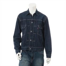 リーバイス デニム デニムジャケット サイズ:44 メンズ ネイビー