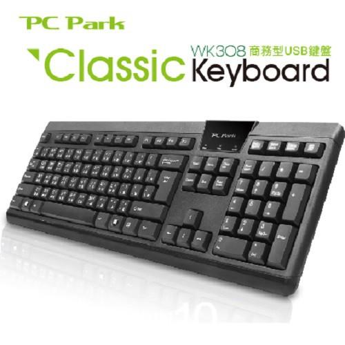 PC Park 黑 WK308MU 鍵鼠組 商務型