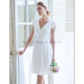 ウェディングドレス パーティドレス マタニティ サイズオーダーmd-161