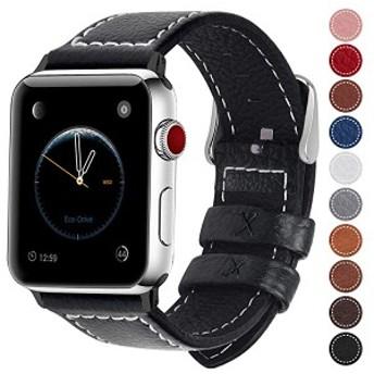 コンパチ Apple Watch バンド ベルト アップルウォッチバンド38mm 42mm apple ウォッチ4(44mm)3 2 1バンド pu レザー 交換バン ...
