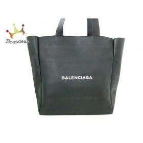 バレンシアガ BALENCIAGA トートバッグ 美品 - 504980 黒 レザー  値下げ 20190801