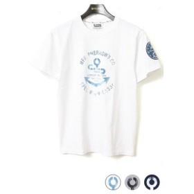 Pherrow's フェローズ 半袖 プリント Tシャツ [USN BUSHIP WATCH] 16S-PT11