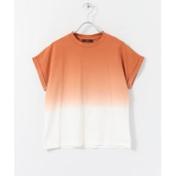 ITEMS(アイテムズ) トップス Tシャツ・カットソー グラデーションクルーネックTシャツ
