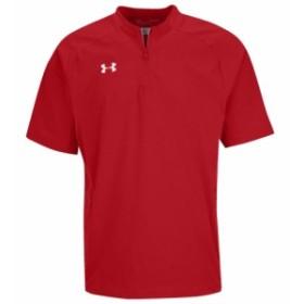 アンダーアーマー Under Armour メンズ アウター 野球 Cage Jacket SS Red/White/White Collegiate Collection