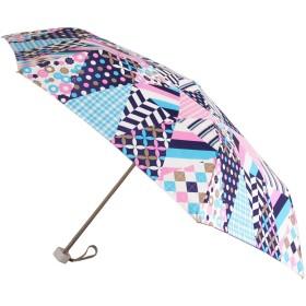 [アメメ] 傘 estaa×mtUV折り畳み傘 レディース カレイドスコープ FREE