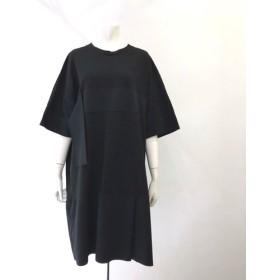 切替えワンピース(ショートスカート タックver. ※男性着用可能) BLACK