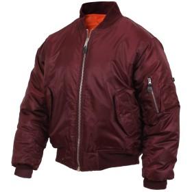 (ロスコ) ROTHCO/MA-1 Flight Jacket【XXS-XL】フライト ジャケット コート (L, マルーン) [並行輸入品]