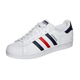 adidas メンズ Superstar Foundation カラー: ホワイト