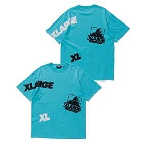 XLARGE (エクストララージ)S/S TEE RANDOM PT ライトブルー M