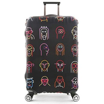 Suitcase Cover Diverse Styles Travel Accessories Luggage Cover Suitcase Protection Baggage Dust Cover Stretch Fabrics Case Size L Style 13