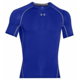 アンダーアーマー Under Armour メンズ トップス フィットネス・トレーニング HeatGear Armour Compression S/S Shirt Royal/Steel