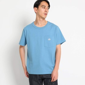 (ザ ショップ ティーケー) THE SHOP TK タフTシャツ 61636612 04(LL) サックス(090)