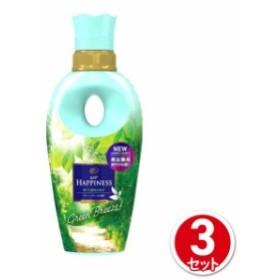 レノア ハピネス 柔軟剤 ユニセックスシリーズ グリーンブリーズの香り 本体 520mL 3本セット P&G ジャパン 柔軟剤