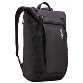 スーリー 14インチノートパソコン・15インチMacBook・10インチタブレット対応バックパック(ブラック・20L) THULE EnRoute Backpack 20L ITJ-3203591 【返品種別A】