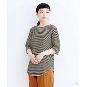 (merlot/メルロー)サーマルハーフスリーブTシャツ/レディース その他