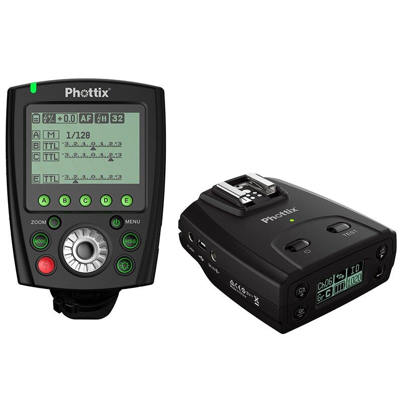 ◎相機專家◎ 送電池 Phottix Odin II TTL 1對1無線閃燈觸發器 for Nikon 送eneloop低自放電電池 公司貨