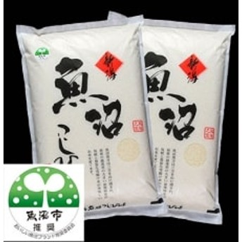 【令和元年産 新米先行受付】 魚沼産コシヒカリ 無洗米5kg×2個