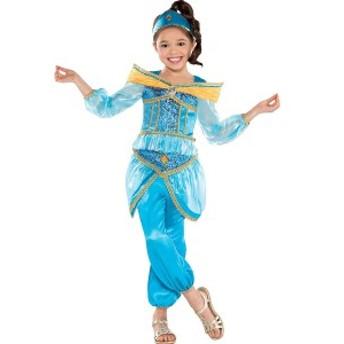 送料無料 アラジン ジャスミン キッズ用 コスチューム 衣装 ハロウィン ディズニー コスプレ 仮装 Aladdin